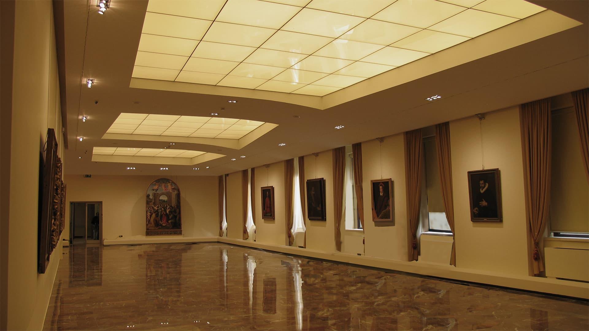 Pinacoteca cariprato prato pierattelli architetture for Grieco mobili